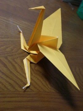簡単 折り紙:鶴 折り紙 足-nekoandmegane.blog.fc2.com