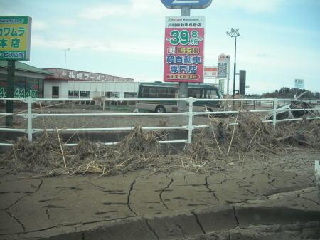 2011年4月3日南相馬市