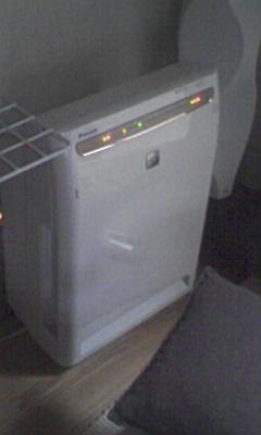 和室の空気清浄機