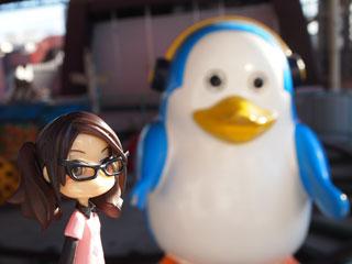 結構どこにでもいるペンギンさん