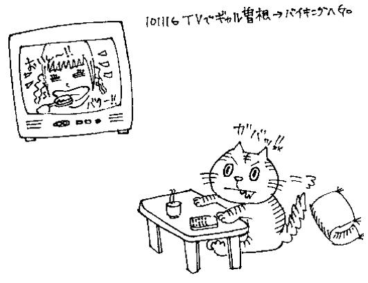 101116 TVでギャル曽根→バイキングへGO