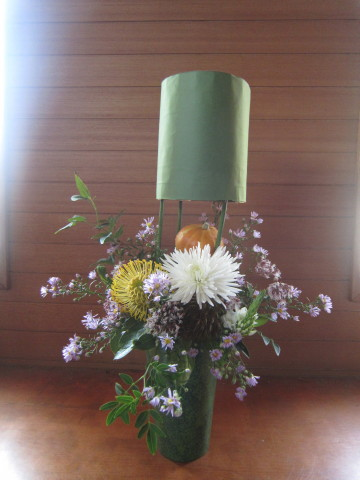 h24,10ハロウィン花