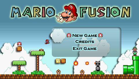 『Mario Fusion v2』タイトル