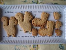 リスのクッキー