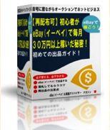 初心者がeBay(イーベイ)で毎月30 万円以上稼いだ秘密!レポート3点セット