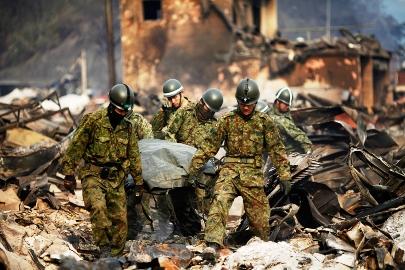 自衛隊災害救助