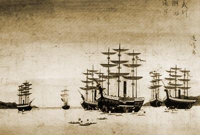 黒船来航-1