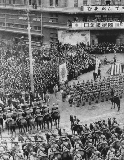 昭和19年の陸軍記念日式典