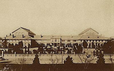 第一次国会(仮)議事堂(明治23年)
