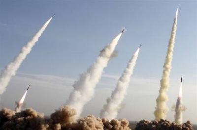 ミサイル発射の模様-1