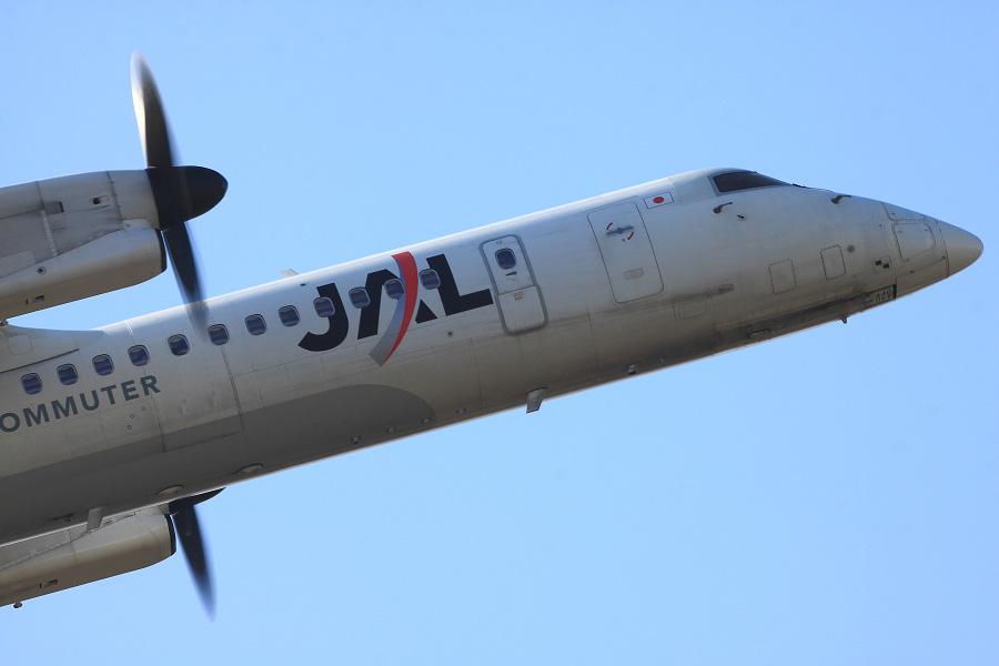 JAC DHC-8-402Q / JAC2453 (JA844C)@下河原緑地展望デッキ