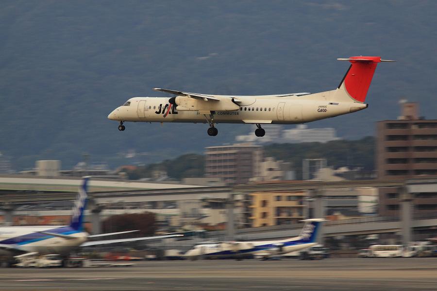 JAC DHC-8-402Q / JAC2450 (JA850C)@伊丹スカイパーク