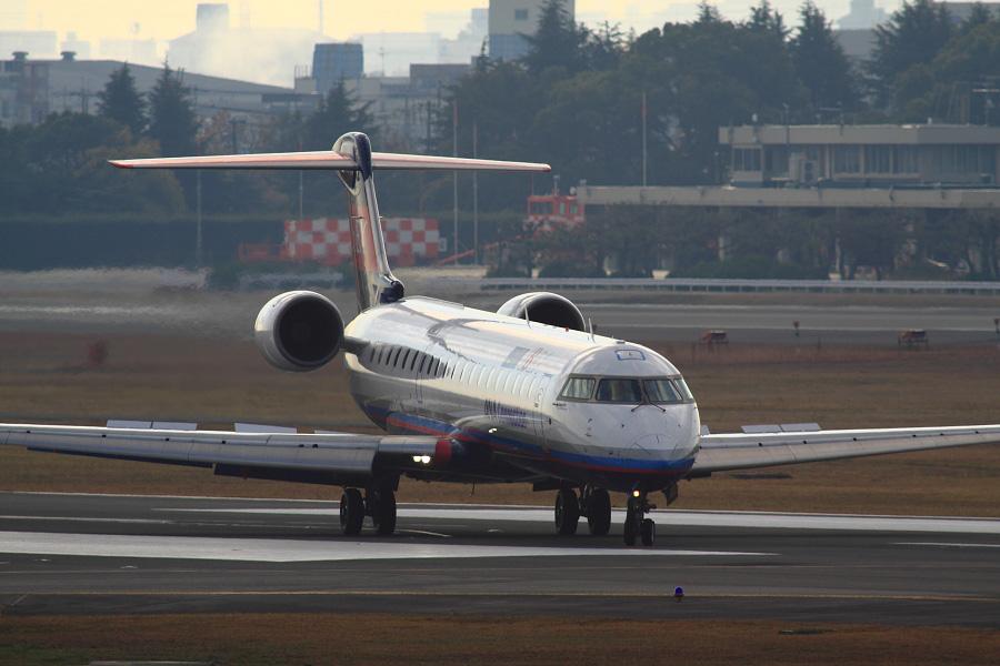 IBX CRJ-700 / IBX42 (JA07RJ)@下河原緑地展望デッキ