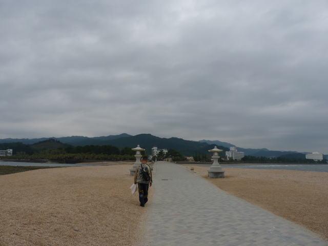 青島神社 弥生橋