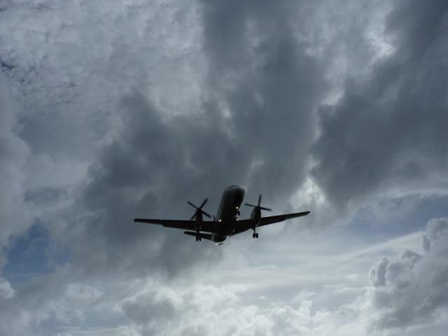 これから乗る飛行機