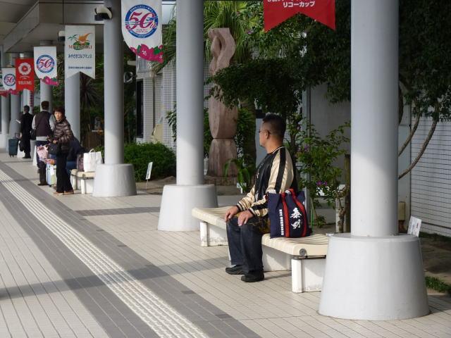 宮崎空港 バス停
