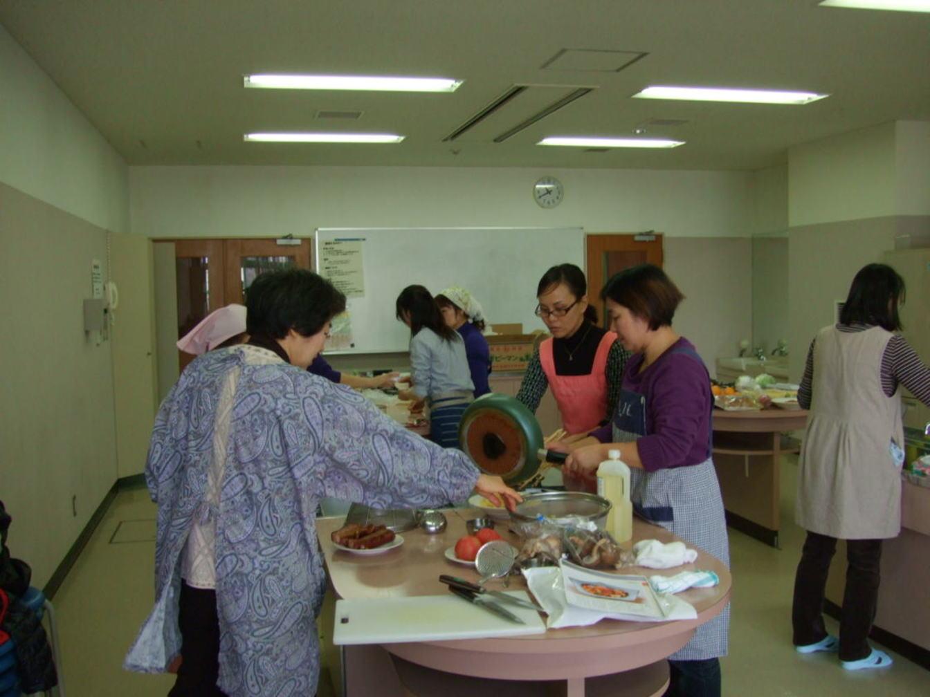 料理教室①