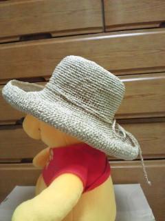 帽子 サイド