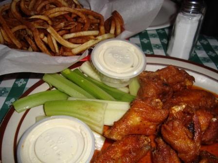 wings dinner