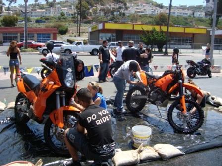 Bike wash wash!