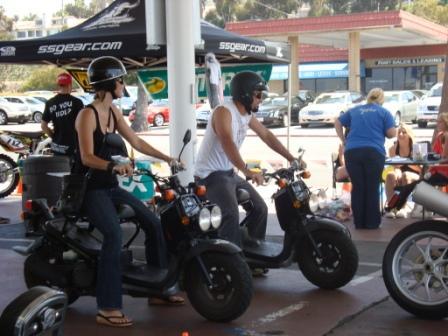 Bike wash scooters