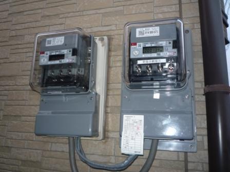 売電メーター