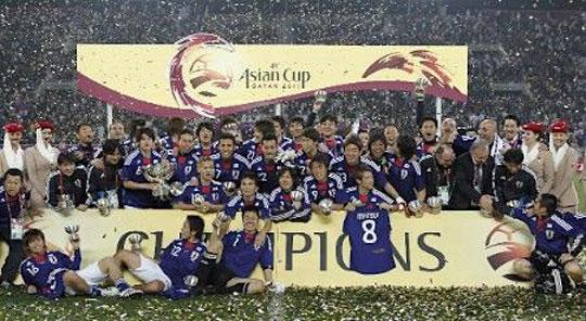 アジアカップ優勝 1
