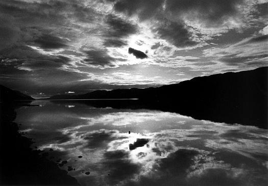 ネス湖にて