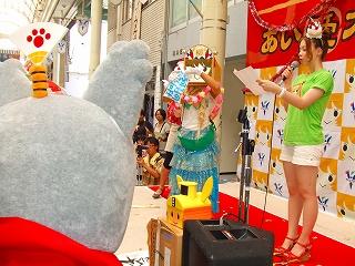 20110807 やなな誕生日 岐阜公園イルミ点灯式 002