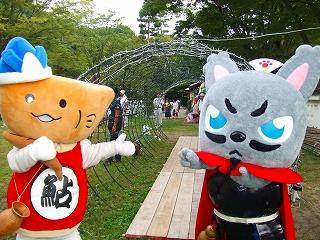 20110807 やなな誕生日 岐阜公園イルミ点灯式 021