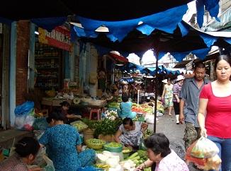 ベトナム旅行 露店