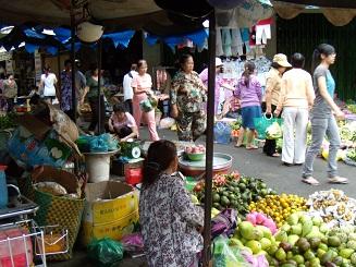 ベトナム旅行 朝の風景