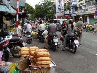 ベトナム旅行 朝の風景1