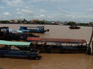 ベトナム旅行 メコン川