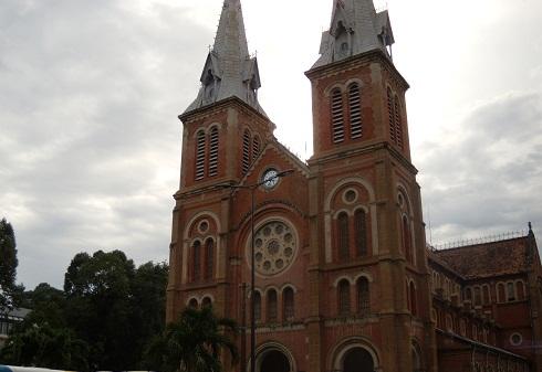 ベトナム旅行 教会