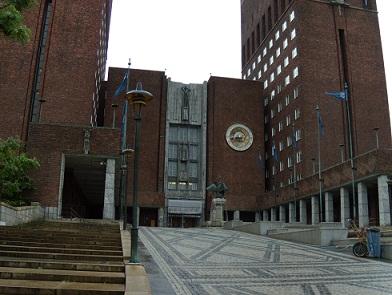 市庁舎 オスロ