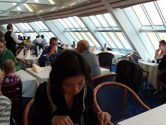 船上レストラン