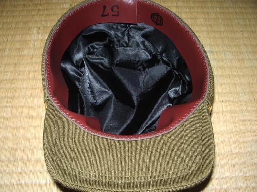 チョソン軍官軍帽04