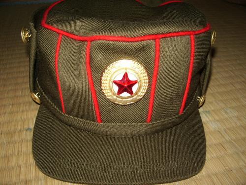 チョソン軍官軍帽03