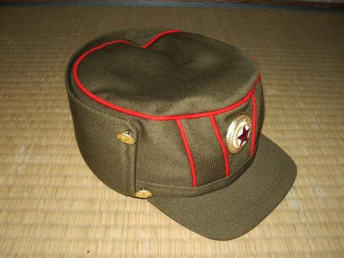 チョソン軍官軍帽02