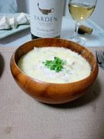 チーズスープの画像