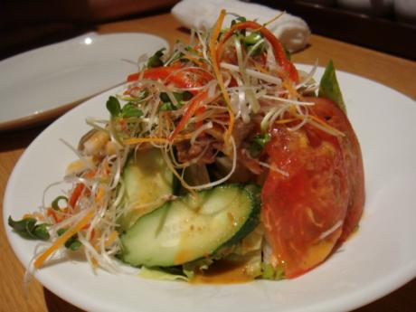 龍福 サラダ