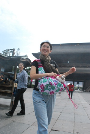 wark in the zenko-ji