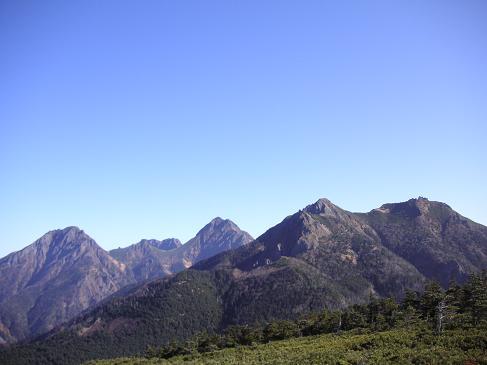 編笠山からの展望