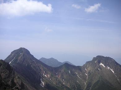 横岳からの眺望