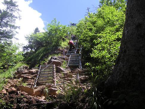 まずは一つ目の階段