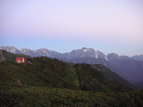 剱岳・立山方面