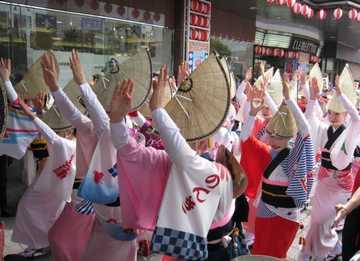 徳島駅前踊り31