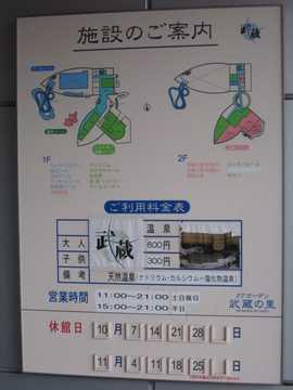 武蔵の里 温泉2