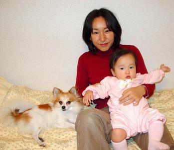 2003年11月 恭子が来てくれた日1